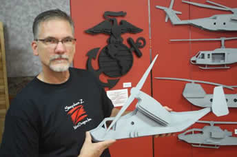 Stephen Z with Military Designs